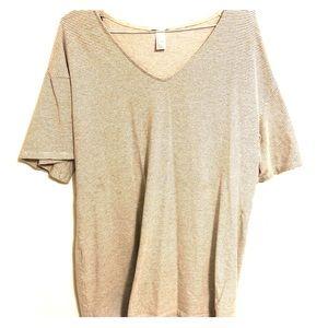 H&M Striped T-shirt Dress